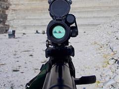 Пристрелка коллиматорного прицела Aimpoint