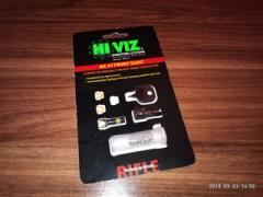 Оптоволоконная мушка HiViz для АК